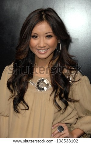 Brenda Song at the Los Angeles Premiere of 'Friday the 13th'. Grauman's Chinese Theatre, Hollywood, CA. 02-09-09