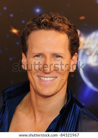 Brendan Cole arriving for the Strictly Come Dancing 2011 launch at BBC TV Centre, London. 09/07/2011 Picture by: Simon Burchell / Featureflash - stock photo