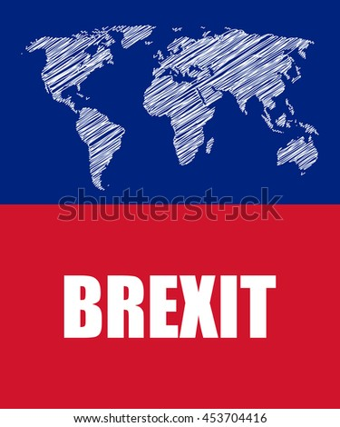 brexit abstract business banner - stock photo