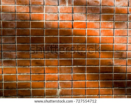 brick block dirty wall background