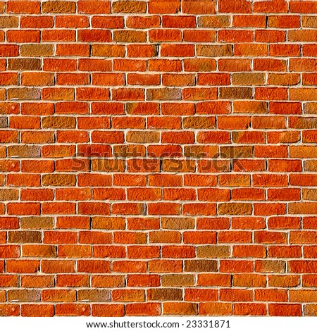 Brick seamless pattern. - stock photo