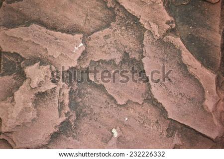 brick stone - stock photo