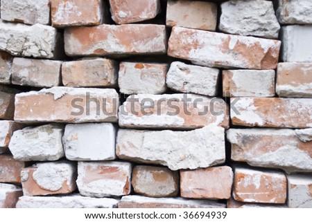 brick wal - stock photo