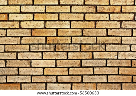 Brick wall. Background. - stock photo