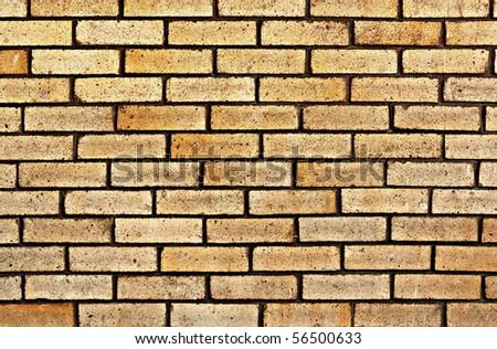 Brick wall. Background. - stock photo