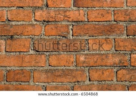 brick wall backround - stock photo