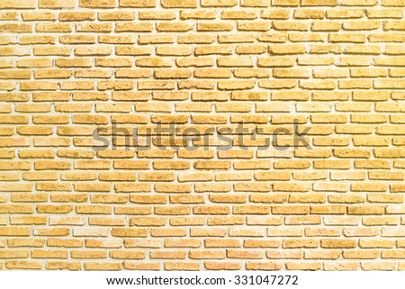 Brick Wall Beautiful Color Texture Background Stock Photo (Royalty ...