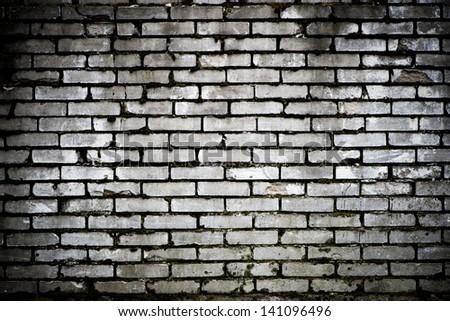 Background Black And White Brick Brick Wall Black White
