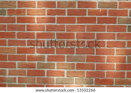 Brick wall Close - stock photo