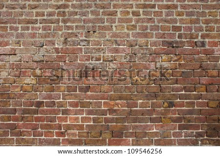 Brick wall found in the UK