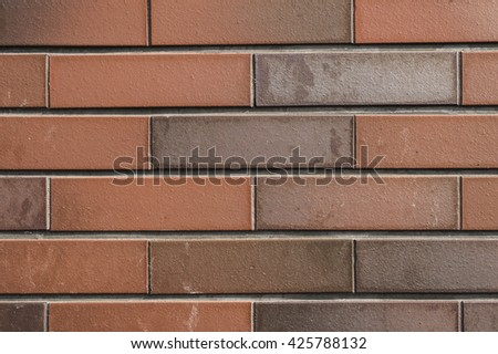 Brick wall pattern and background