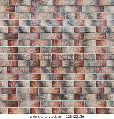 brick wall texture and background - stock photo