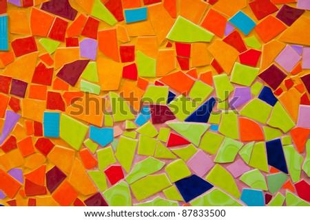 Brick wall Tile - stock photo