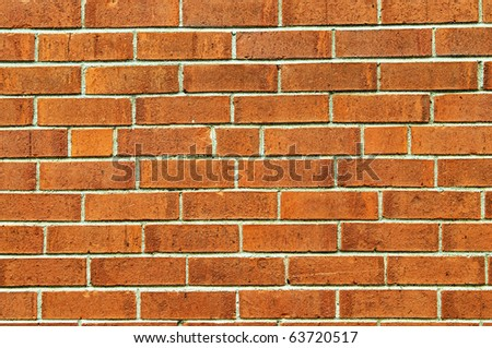 Brick wall to be used as background - stock photo