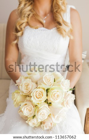 Bride - stock photo