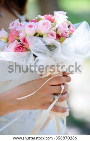 Bride Flower - stock photo