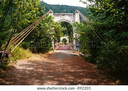 Bridge Alexandra - stock photo