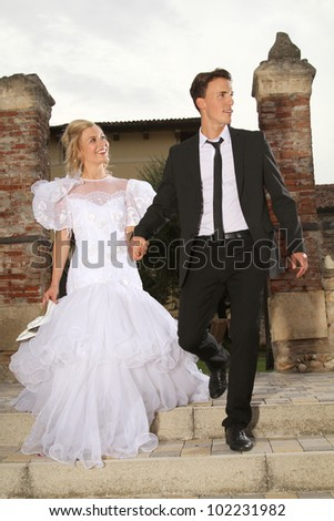 bridge and bridegroom