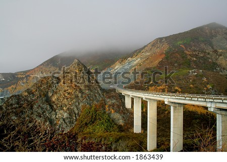 Bridge in Big Sur California