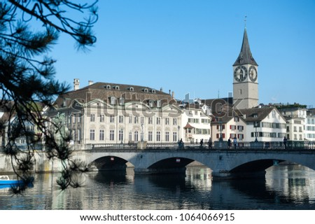 Bridge in Zurich