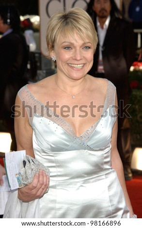 Bridget Jones's Diary author HELEN FIELDING at the 59th Annual Golden Globe Awards in Beverly Hills. 20JAN2002  Paul Smith/Featureflash