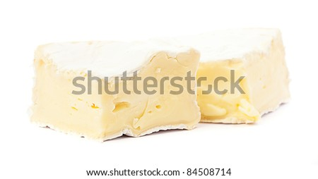 brie cheese - stock photo