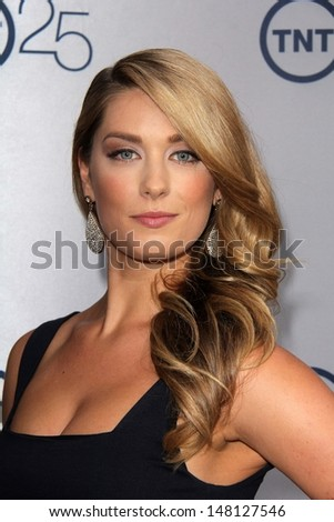 Briga Heelan at the TNT 25th Anniversary Party, Beverly Hilton Hotel, Beverly Hills, CA 07-24-13