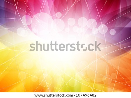 Bright abstract background. Raster version - stock photo