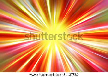 Bright abstract colorful blurred background - stock photo