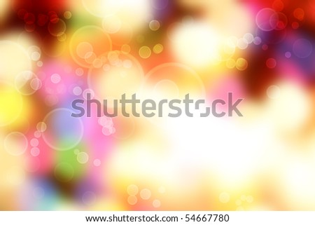 Bright abstract colorful lights background. - stock photo