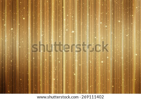 Bright abstract golden background with glitter - stock photo