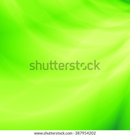 Bright abstract green wallpaper modern leaf background