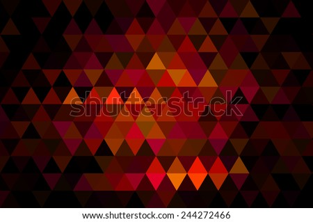 Bright abstract mosaic red background with gloss - stock photo