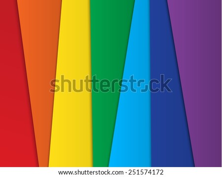 Bright abstract  rainbow background for design.  - stock photo