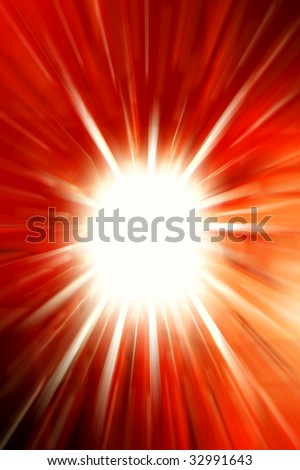 Bright abstract red background