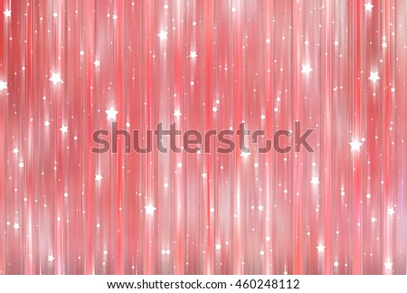 Bright abstract red background with glitter - stock photo