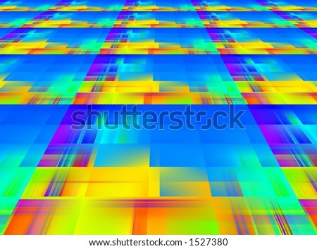 Bright abstraction perspective