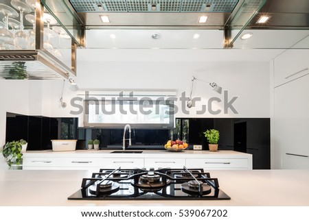 Modern Kitchen Stove stove stock images, royalty-free images & vectors | shutterstock