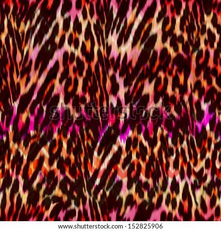 bright animal ~ seamless background tile - stock photo