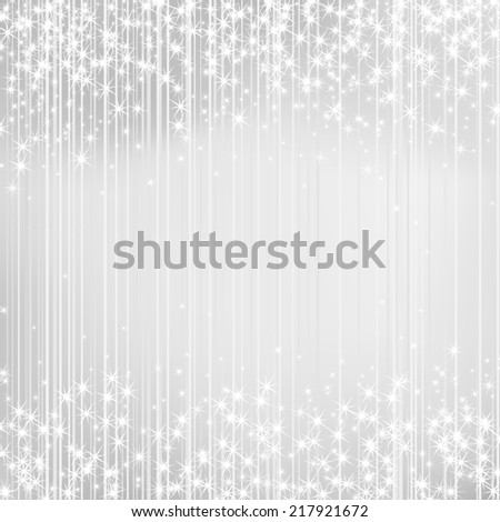 Bright background with stars. Festive design. New Year, Christmas, wedding style - stock photo