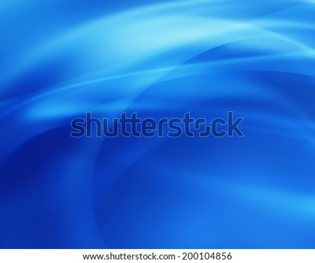 bright blue background with smooth lines