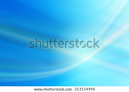 bright blue wave abstract background