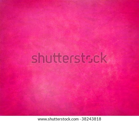 bright candy pink grunge paper background - stock photo