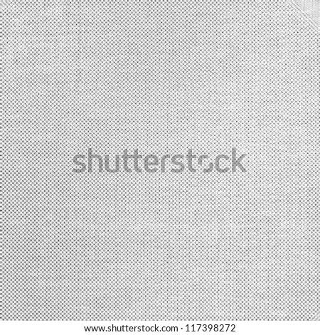 bright canvas texture grunge background with dark grid pattern - stock photo