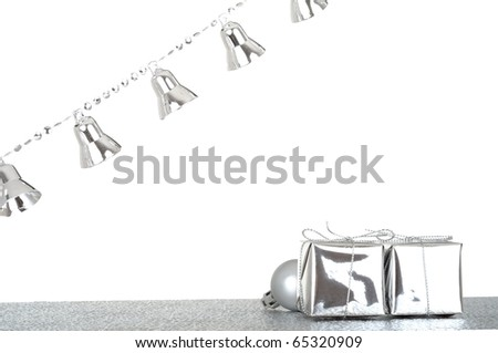 Bright christmas decoration - stock photo