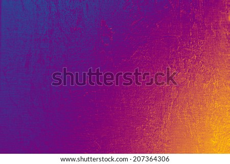 Bright colorful background, linen texture, festive glow backdrop - stock photo