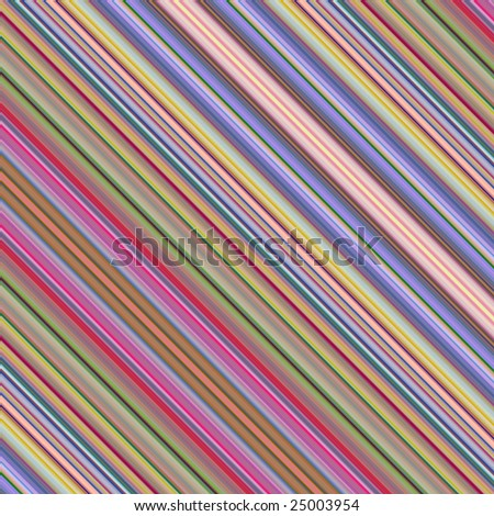 Bright colorful diagonal stripes abstract background.