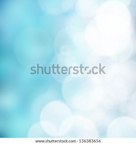bright colorful sun and sea bokeh background - stock photo