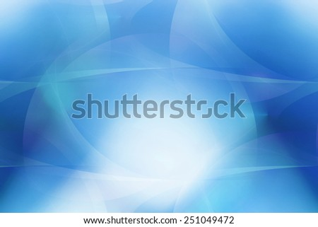 bright curl blue abstract background - stock photo