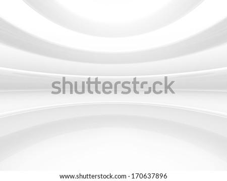 Bright empty space - stock photo